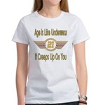 Funny 21st Birthday Women's T-Shirt