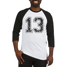 Retro 13 Number Baseball Jersey