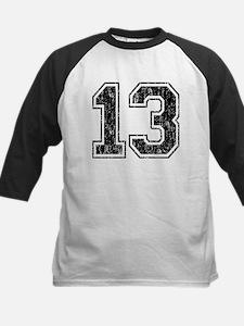 Retro 13 Number Kids Baseball Jersey