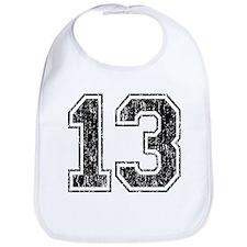 Retro 13 Number Bib