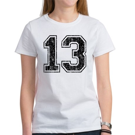 Retro 13 Number Women's T-Shirt