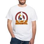 WTD: I'd like to shoot you White T-Shirt