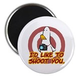 "WTD: I'd like to shoot you 2.25"" Magnet (10 pack)"