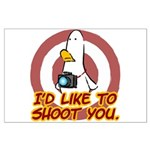 WTD: I'd like to shoot you Large Poster