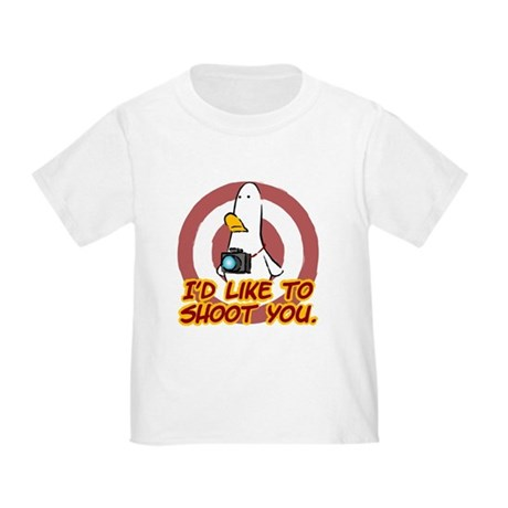 WTD: I'd like to shoot you Toddler T-Shirt