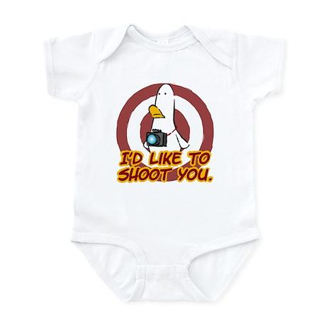 WTD: I'd like to shoot you Infant Bodysuit