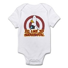 WTD: I'd like to shoot you Infant Bodysuit