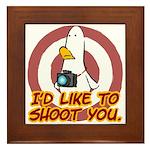 WTD: I'd like to shoot you Framed Tile