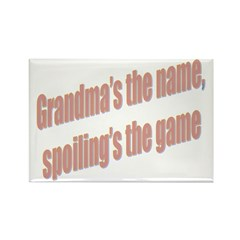 Grandma's the name Rectangle Magnet (10 pack)