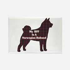 BFF Norwegian Buhund Rectangle Magnet (100 pack)