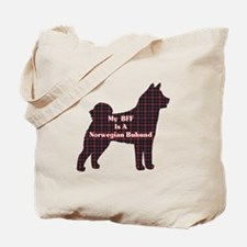 BFF Norwegian Buhund Tote Bag