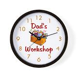 Workshop Wall Clocks