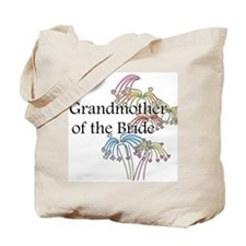 Fireworks Grandmother of the Bride Tote Bag