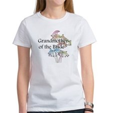 Fireworks Grandmother of the Bride Tee