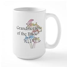 Fireworks Grandmother of the Bride Mug