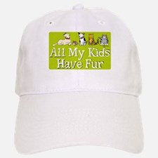 All My Fur Kids Baseball Baseball Cap