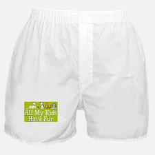 All My Fur Kids Boxer Shorts