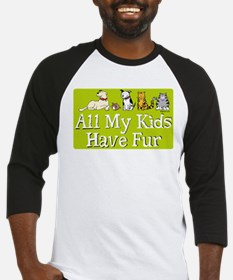 All My Fur Kids Baseball Jersey