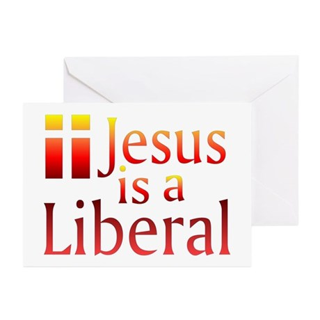 Greeting Cards (Pk of 10) - Jesus is a Libera