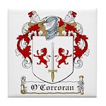 O'Corcoran Family Crest Tile Coaster