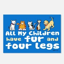 All My Fur Children Postcards (Package of 8)