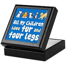 All My Fur Children Keepsake Box