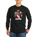 Elben Family Crest Long Sleeve Dark T-Shirt