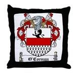 O'Cornyn Family Crest Throw Pillow