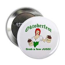 Octoberfest...Grab a Few Jugs! Button