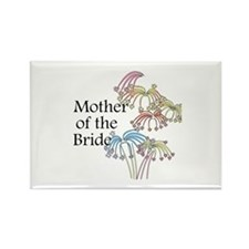 Fireworks Mother of the Bride Rectangle Magnet