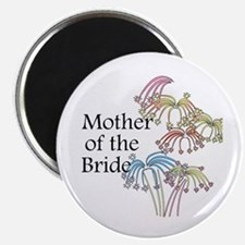 """Fireworks Mother of the Bride 2.25"""" Magnet (10 pac"""