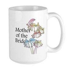 Fireworks Mother of the Bride Mug