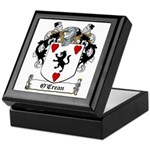 O'Crean Family Crest Keepsake Box