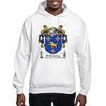 O'Crouley Family Crest Hooded Sweatshirt