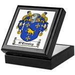 O'Crouley Family Crest Keepsake Box