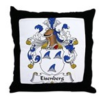 Eisenberg Family Crest Throw Pillow