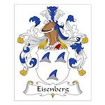 Eisenberg Family Crest Small Poster