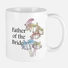 Fireworks Father of the Bride Mug