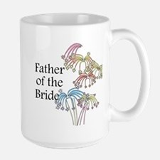 Fireworks Father of the Bride Mug