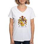 Ehlers Family Crest Women's V-Neck T-Shirt