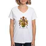 Ehler Family Crest Women's V-Neck T-Shirt