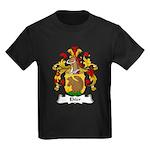 Ehler Family Crest Kids Dark T-Shirt