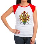 Ehler Family Crest Women's Cap Sleeve T-Shirt