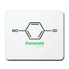 Molecularshirts.com Paranoid Mousepad