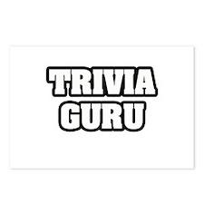 """""""Trivia Guru"""" Postcards (Package of 8)"""