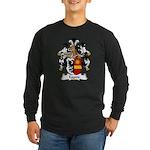 Eggers Family Crest Long Sleeve Dark T-Shirt