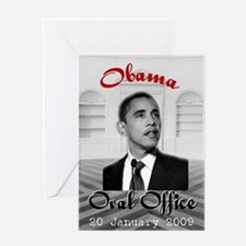 Oval Office Obama Greeting Card