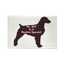 BFF Boykin Spaniel Rectangle Magnet (100 pack)