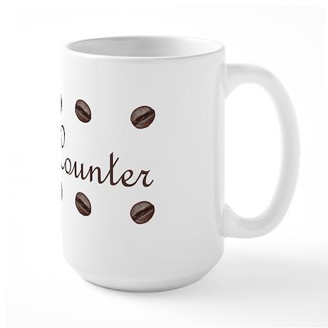 Bean Counter Coffee Beans Large Mug
