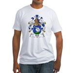 Edel Family Crest Fitted T-Shirt